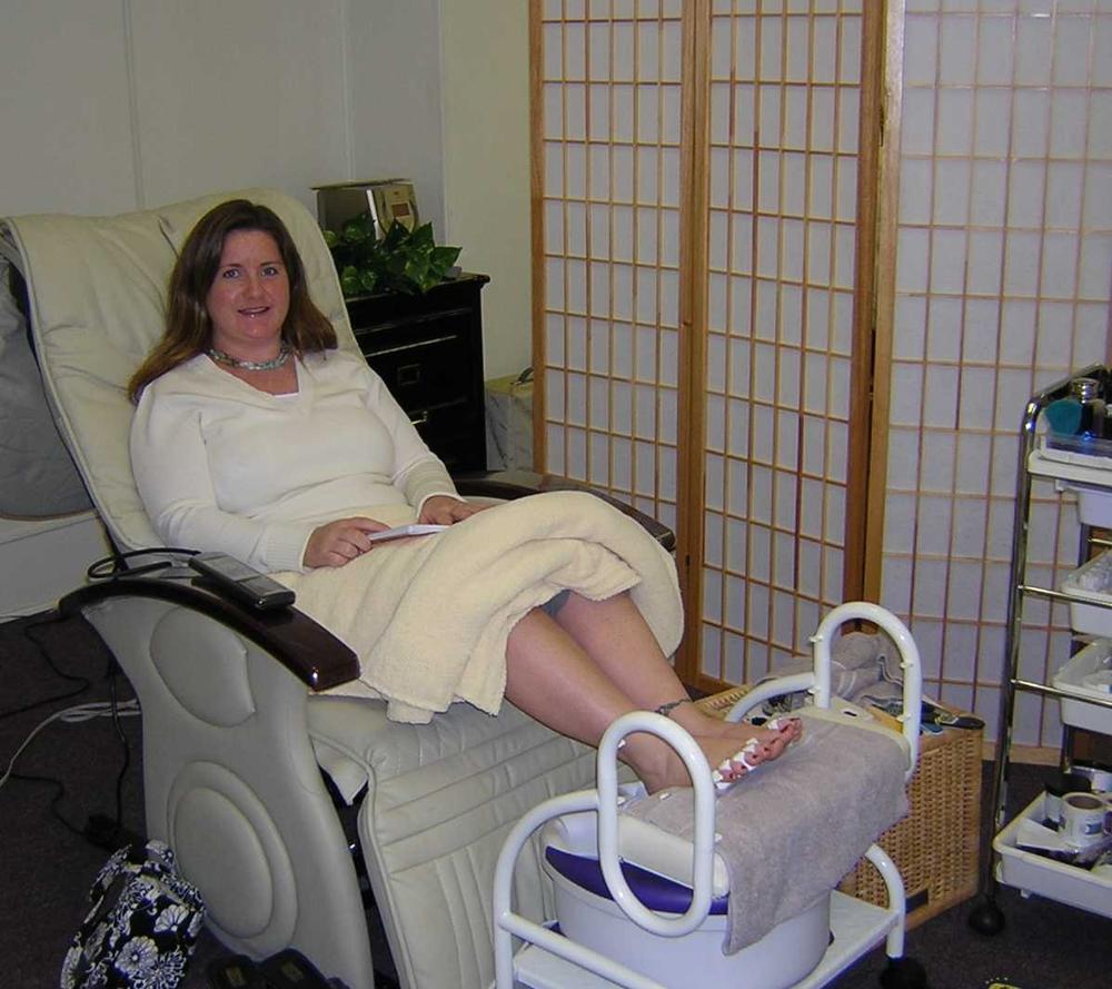 <p>At a medical nail spa in Germany!</p>