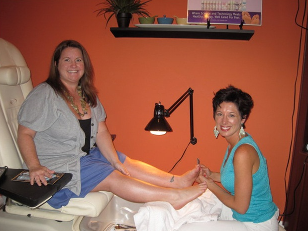 <p>At Heather Goodwin's salon in Tampa, Fla.</p>