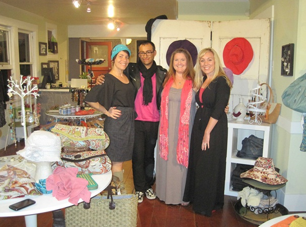 <p>At Be Beauty in San Diego with nail tech Brian Garces.</p>