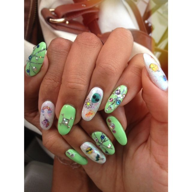 <p>Donne &amp; Ginny Geer, Hey Nice Nails, Long Beach, Calif. @heynicenails</p>