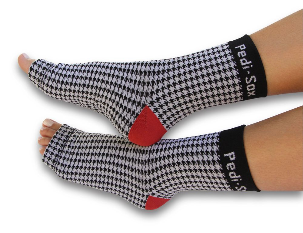 <p>A perfect item to retail or to use in your services, <strong>Pedi-Sox</strong> trendy and stylish footwear will keep clients comfortable and warm while you pamper them. Just slip on the socks at the end of the pedicure process or right before the toenails are painted, and clients can easily walk out the door.</p>