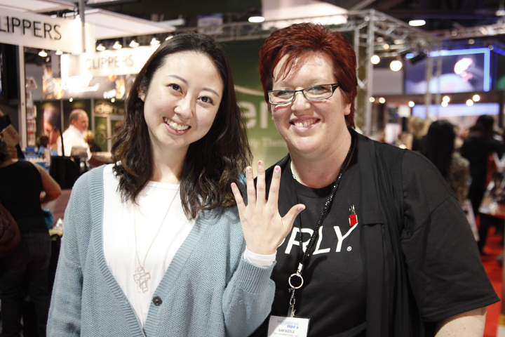 """<p>Eden da Silva was a hand model for Orly educator <a href=""""http://www.nailsmag.com/video/96109/isse-2013-fun-easy-rose-nail-art-with-orly-gelfx"""">Sam Biddle&rsquo;s rose nail art demo</a> for NAILStv.</p>"""