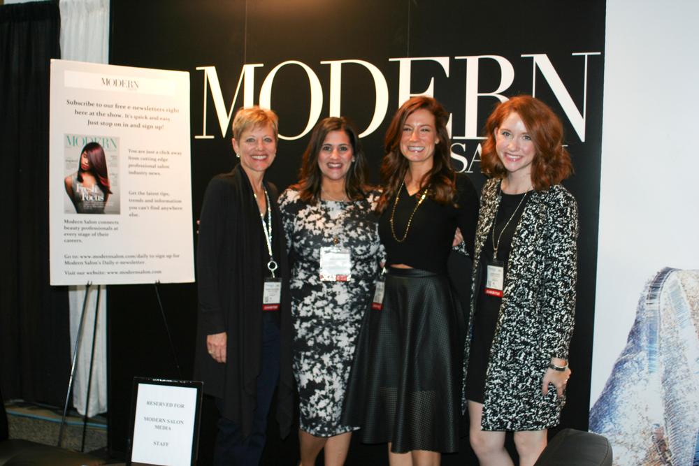"""<p>The <a href=""""http://www.modernsalon.com"""">Modern Salon Magazine</a> Team!</p>"""