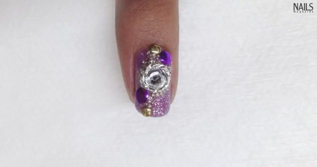 Troubleshooter: Jewelry-embellished Nail Art