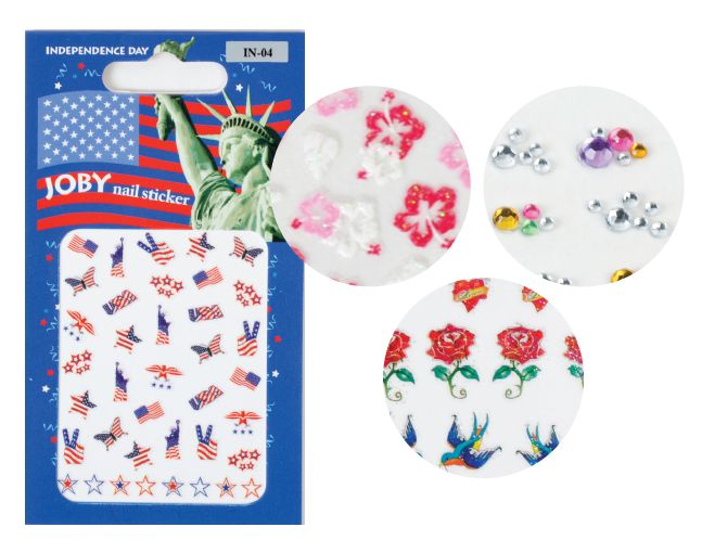 """<p class=""""sidebar-WhitneyBASICTEXT"""">Joby Nail Art<span style=""""font-family: Times New Roman;"""">, celebrating its 10th year in business, produces a slew of fashionable nail art stickers for any occasion. Designs range from funky to classic and are meant to be worn in conjunction with polish. Be sure to check out Joby&rsquo;s brand new website, which offers tips and tricks for application.&nbsp; </span><br /><a href=""""http://www.jobynailart.com"""">www.jobynailart.com</a></p>"""