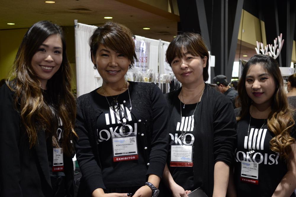 <p>Kokoist's Iori Iwaza, Koko Kashiwagi, Yumi Kamio, and Janelle Odakura.</p>