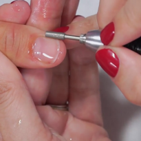 Safe E-File Manicure With Kupa Featured Guest Artist Elaine Watson