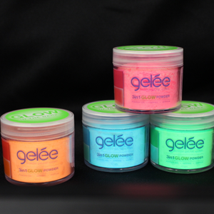 LeChat Glow Color Powder Lights Up Nails