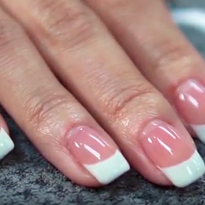 Pink-and-White Using Gelee Powder Gel