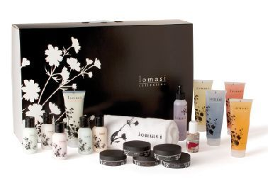 """<p>Young Nails&rsquo; Lomasi Collection is a full product line created especially for traditional and soak-free pedicures. Clients can choose from five scents including Pomegranate and Cucumber Aloe. The collection consists of: scrub, cream, and lotion in each flavor; antiseptic spray; mask; rose oil; a cuticle pusher; orangewood sticks; toe separators; cuticle nippers; wipes; Super Shiner; combo files and sponge; manicure brushes; foot slippers; a pedi file; and a towel.</p> <p><a href=""""http://www.youngnails.com/"""">www.youngnails.com/</a></p>"""