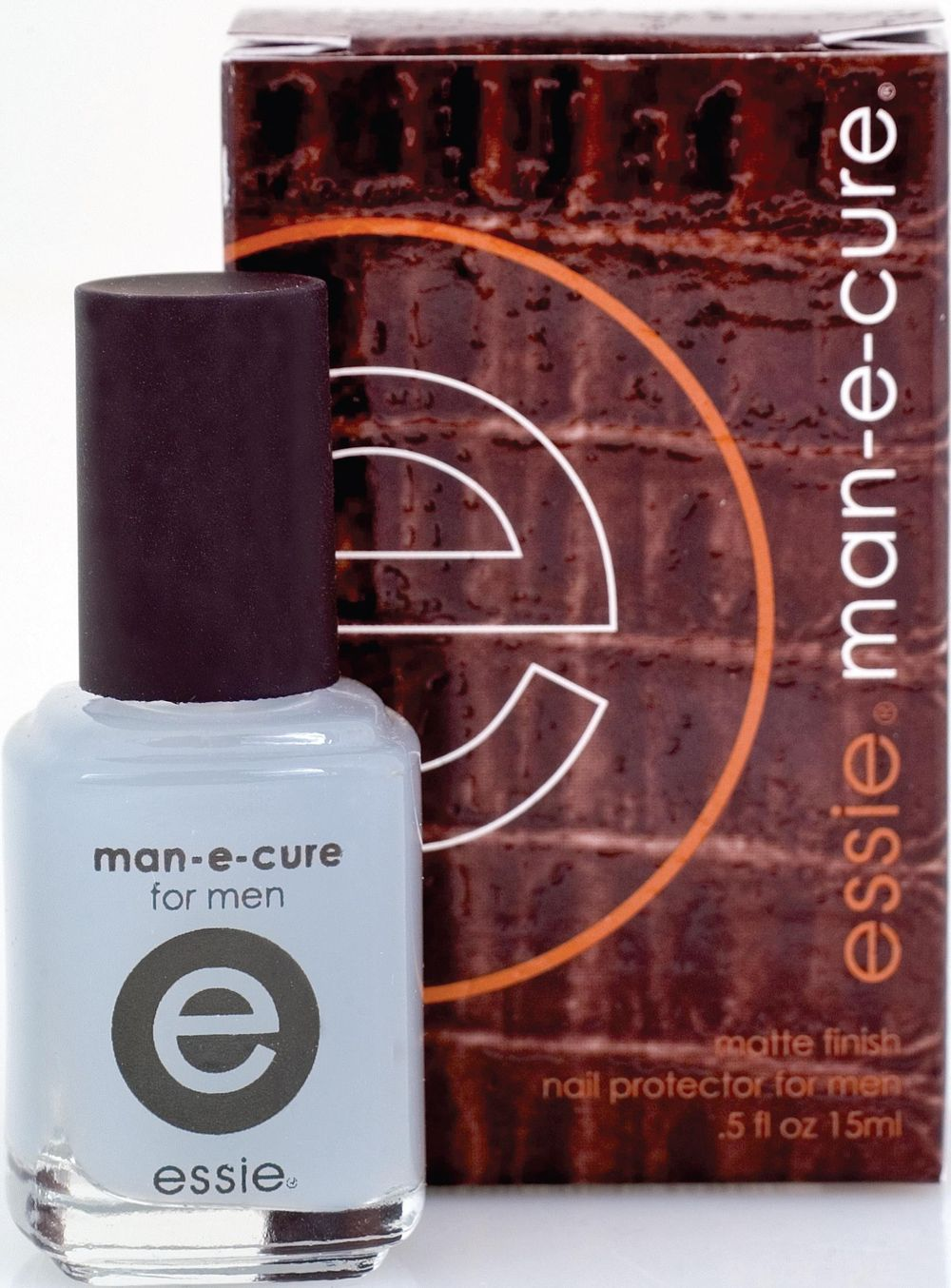 <p><strong>Essie Cosmetics:</strong> Man-E-Cure</p>