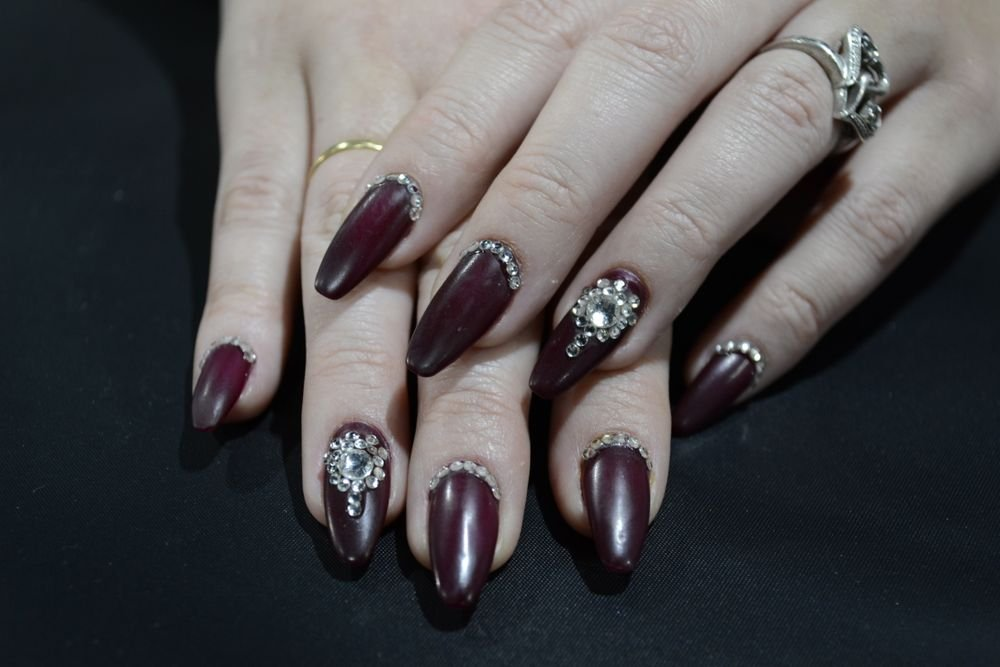 <p>Nails by Melanie Visser of Bio Sculpture Gel.</p>
