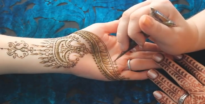 How To Do A Tajik (Persian) Style Henna Design