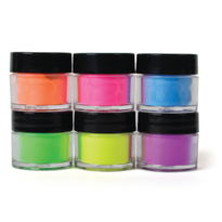 Chic Neon Acrylic Nail Art Powder Collection