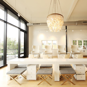 Natural lighting can allow clients to feel extra relaxed, but make sure you have an option,such...