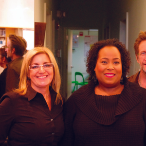 Salon 4 has four owners, including Leyla Heinrich (left) and Michael Houston (second from...