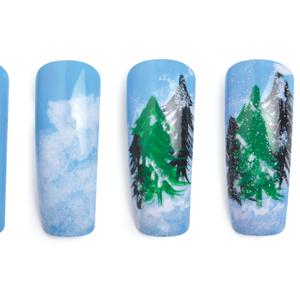 Nail Art Studio: Winter Woodworks