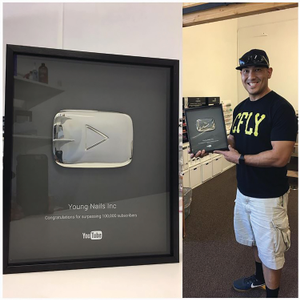 Young Nails Hits Milestone on YouTube