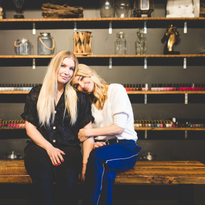 Owners Lauren Hunter and Manda Mason grew up working in their dad's grocery store, and always...