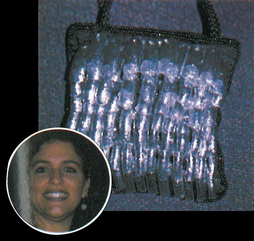 <p>Faith Glionna, runner-up in the Salon of the Year 1-4 techs category, made this purse just for the special occasion. She took a small cloth bag and covered it with 100 nail tips of every size that she pre-painted sparkly silver. She broke a few nails in all the cheering at the party. Glionna also custom-made Salon of the Year candy bars for the attendees.</p>