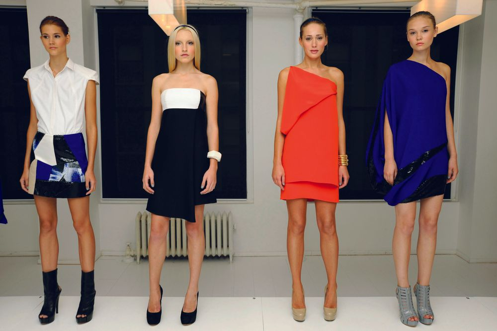<p>All models in the Angel Sanchez show wore <strong>Ginger + Liz</strong> polish in Can You Keep A Secret?</p>