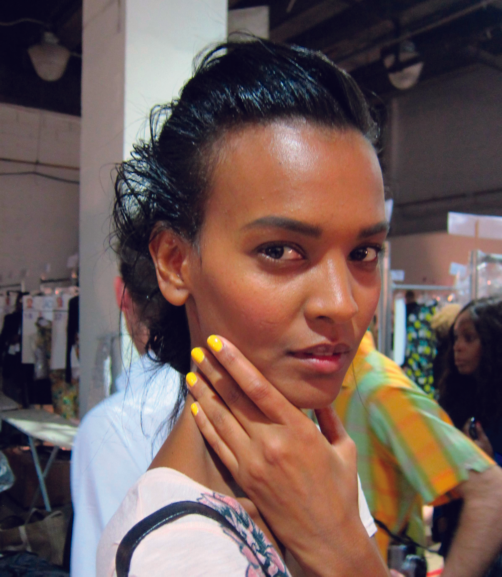 <p>For the Proenza Schouler show, <strong>Perfect Formula</strong> created a special custom yellow nail shade, which will be available for purchase in February</p>
