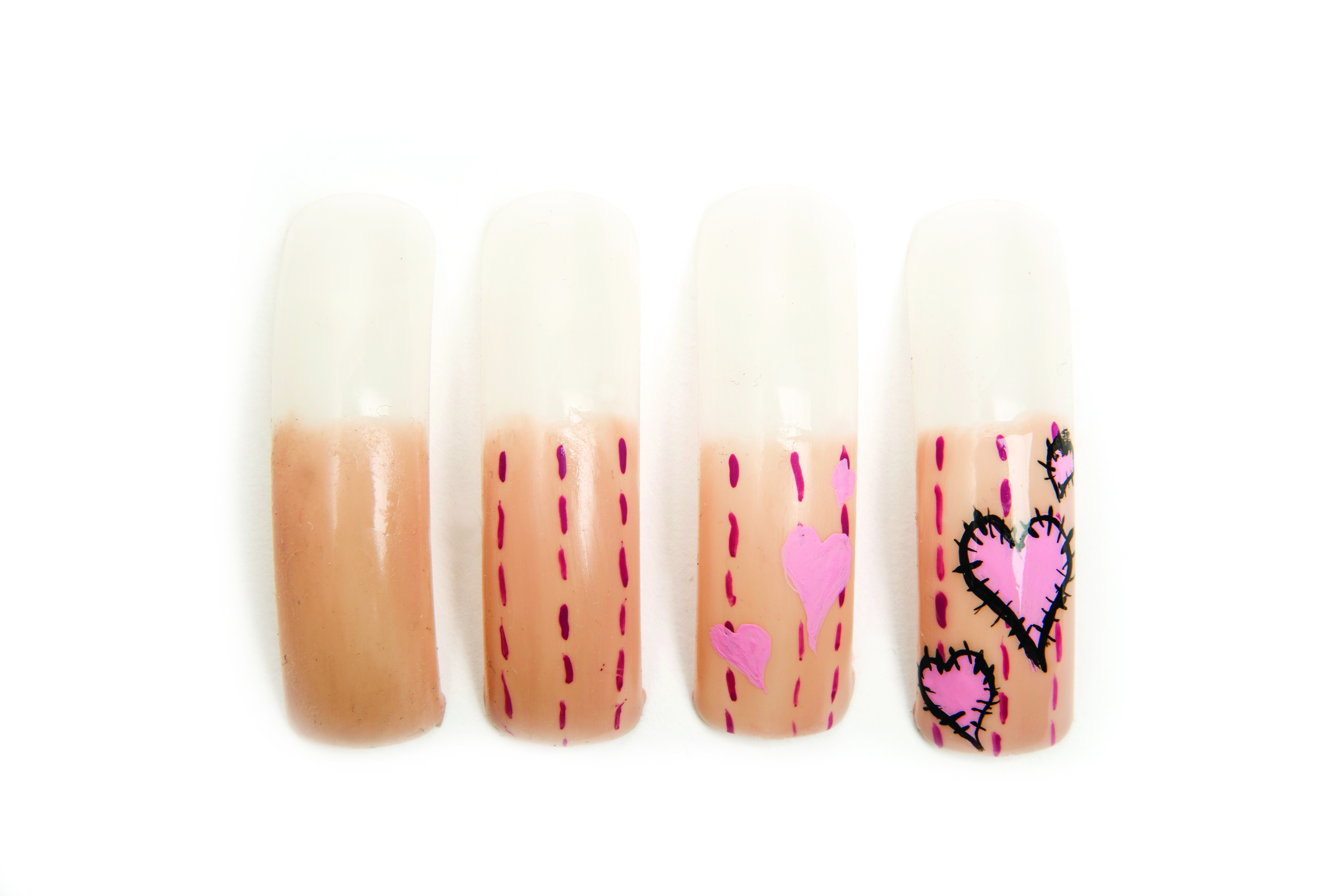 3 Easy Valentine's Day Nail Art Projects for Students