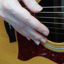 Gel Nails Prevent Musical Mishap