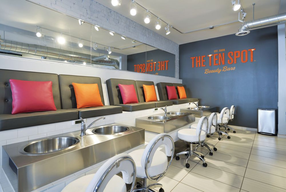 <p>The Ten Spot chain has about 20 nail salons (some corporate and some franchised) throughout Canada including multiple outposts in Toronto.</p>