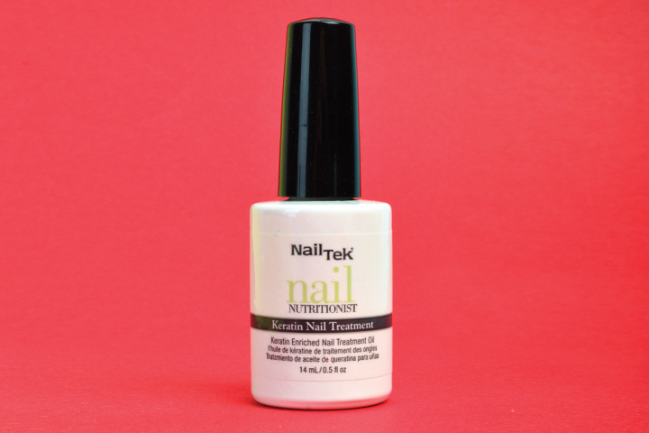 """<p>Nourish nails with Nail Tek's Nail Nutritionist Keratin Nail Treatment. This daily treatment oil offers a gentle solution to improve the condition of weak, damaged nails by replenishing lost keratin. Keratin is a key structural component to the makeup of healthy nails, skin, hair, and teeth. The treatment restores this missing protein by binding to ravaged nails, creating a protective barrier and increasing moisture.</p> <p><a href=""""http://www.nailtek.com"""">www.nailtek.com</a></p>"""