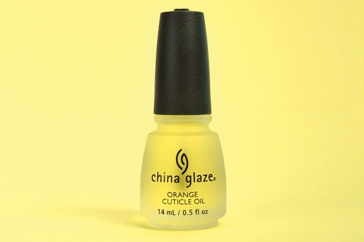 "<p>China Glaze Orange Cuticle Oil moisturizes dry, damaged, dehydrated cuticles, promoting healthy nail growth with a blend of vitamins A, C, and E. Infused with an aromatic blend of five natural moisturizing oils, this nourishing oil penetrates dry, damaged cuticles, increasing flexibility and strength of natural nails and rejuvenating artificial nails.</p> <p><a href=""http://www.chinaglaze.com"">www.chinaglaze.com</a></p> <p>&nbsp;</p>"