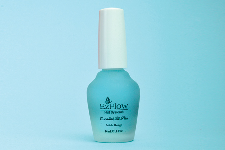 """<p>Smooth and soothe cuticles as the finishing step to your nail enhancement services with EzFlow Essential Plus. Natural botanicals penetrate deep into the skin to keep cuticles hydrated and encourage healthy nail growth. Safe for artificial nails, Essential Plus will not lift enhancements.</p> <p><a href=""""http://www.ezflow.com"""">www.ezflow.com</a></p>"""