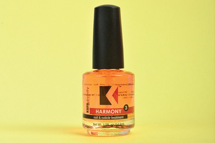 "<p>Kupa Harmony Cuticle Oil is the final step for beautiful nails. This soothing cuticle massage oil restores the harmony between the nail and cuticle as it hydrates and seals in moisture.</p> <p><a href=""http://www.kupainc.com"">www.kupainc.com</a></p>"