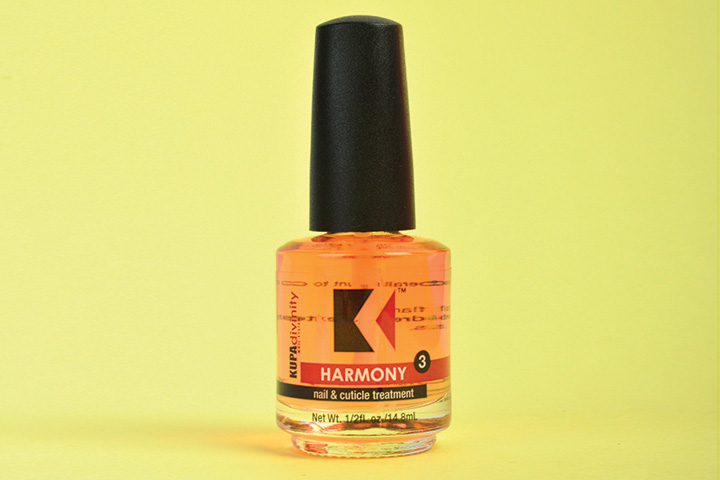 """<p>Kupa Harmony Cuticle Oil is the final step for beautiful nails. This soothing cuticle massage oil restores the harmony between the nail and cuticle as it hydrates and seals in moisture.</p> <p><a href=""""http://www.kupainc.com"""">www.kupainc.com</a></p>"""