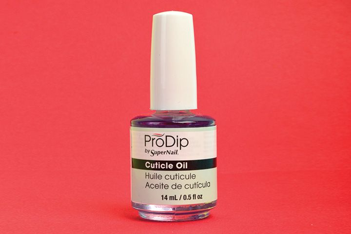 "<p>ProDip by SuperNail Cuticle Oil is light and non-greasy, hydrating dry and damaged cuticles to promote healthy nail growth without lifting enhancements.&nbsp;&nbsp;&nbsp;</p> <p><a href=""http://www.supernailprofessional.com"">www.supernailprofessional.com</a></p>"