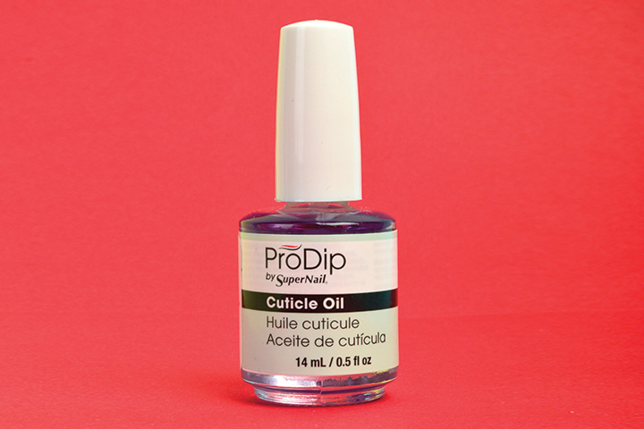 """<p>ProDip by SuperNail Cuticle Oil is light and non-greasy, hydrating dry and damaged cuticles to promote healthy nail growth without lifting enhancements.&nbsp;&nbsp;&nbsp;</p> <p><a href=""""http://www.supernailprofessional.com"""">www.supernailprofessional.com</a></p>"""