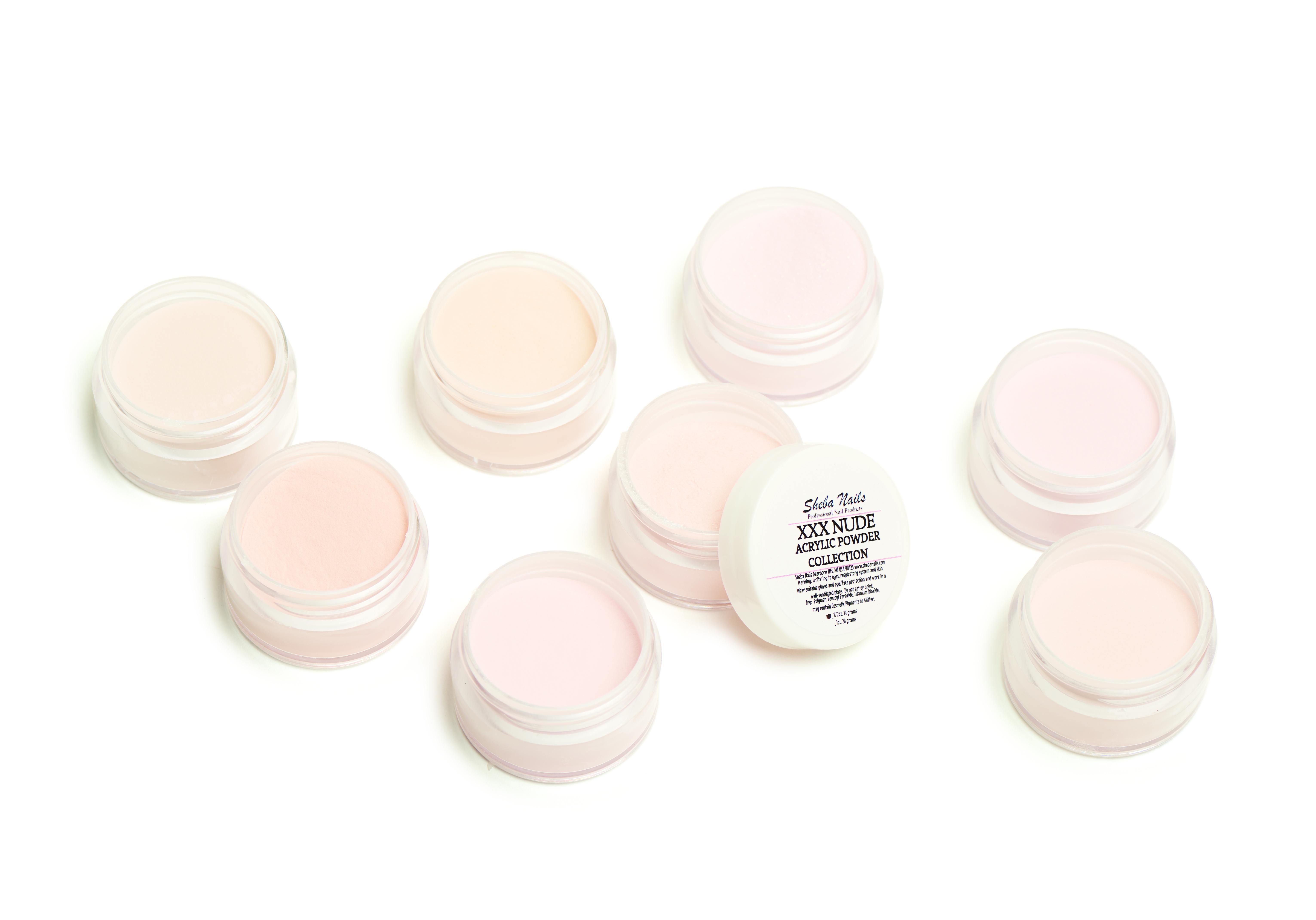 Nude Acrylic Powder Collection