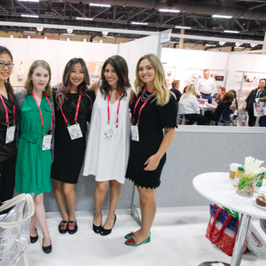 Me and the current editorial team at Cosmoprof 2017.