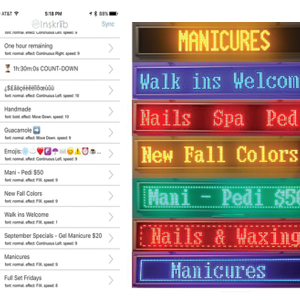 Next-Generation LED Signs Are Portable, Programmable