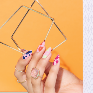 Behind the Scenes: Kusama-Inspired Nail Art