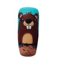 Groundhog Day Nail Art Tutorial