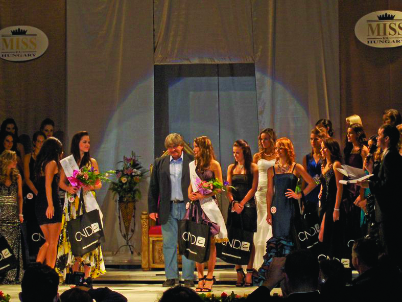 CND Hungary Sponsors the Miss Hungary Pageant