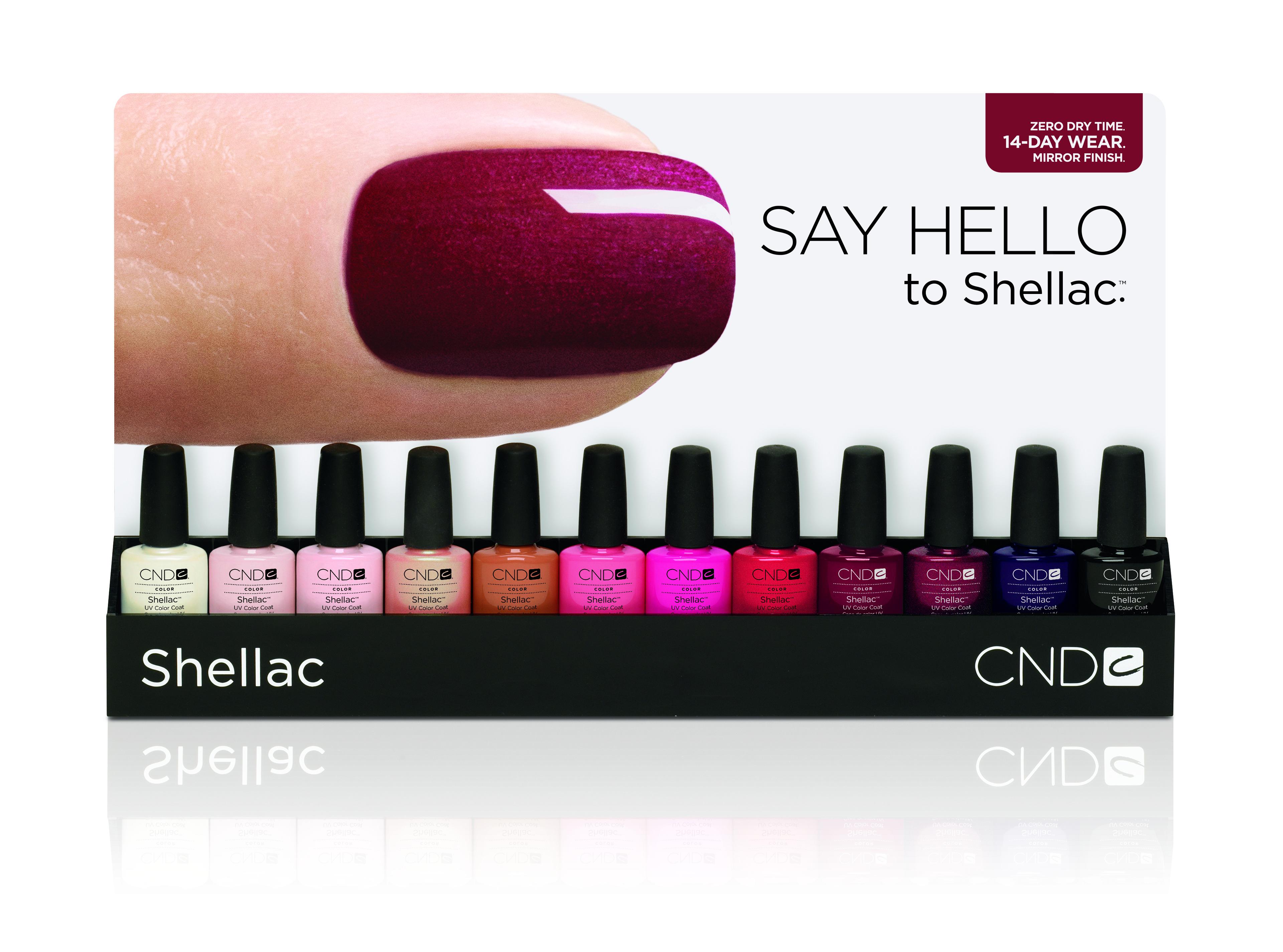 12 New Shellac Shades