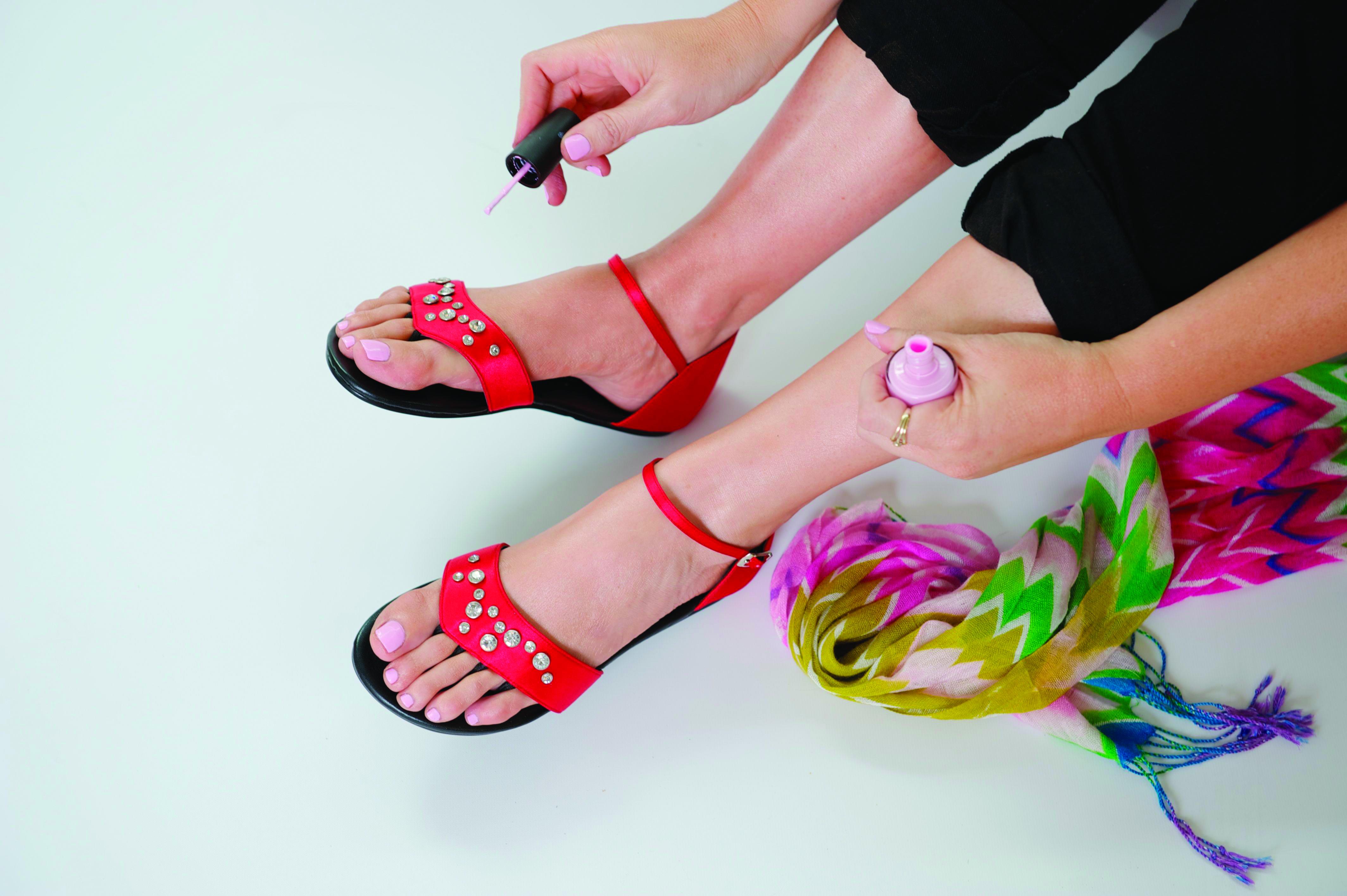 Foldable Pedicure Sandals