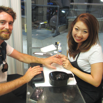 Owner Anri Bui received her nail education in both Hawaii and her native Yokohama, Japan.