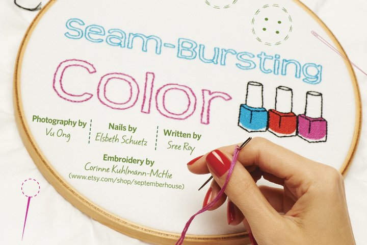<p>Whether it&rsquo;s sewing, decorating, nail designs, or jewelry-making, the common thread this spring is DIY. Grab your supplies and get crafty with the season&rsquo;s polish hues.</p>