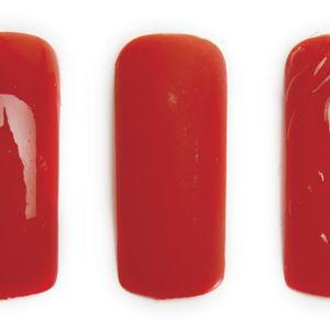 1. Apply Entity Beauty One Color Couture Soak Off Gel Enamel Base Coat.