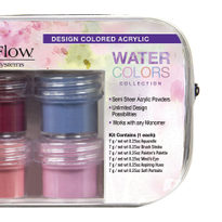 Design Colored Acrylic Watercolors Collection