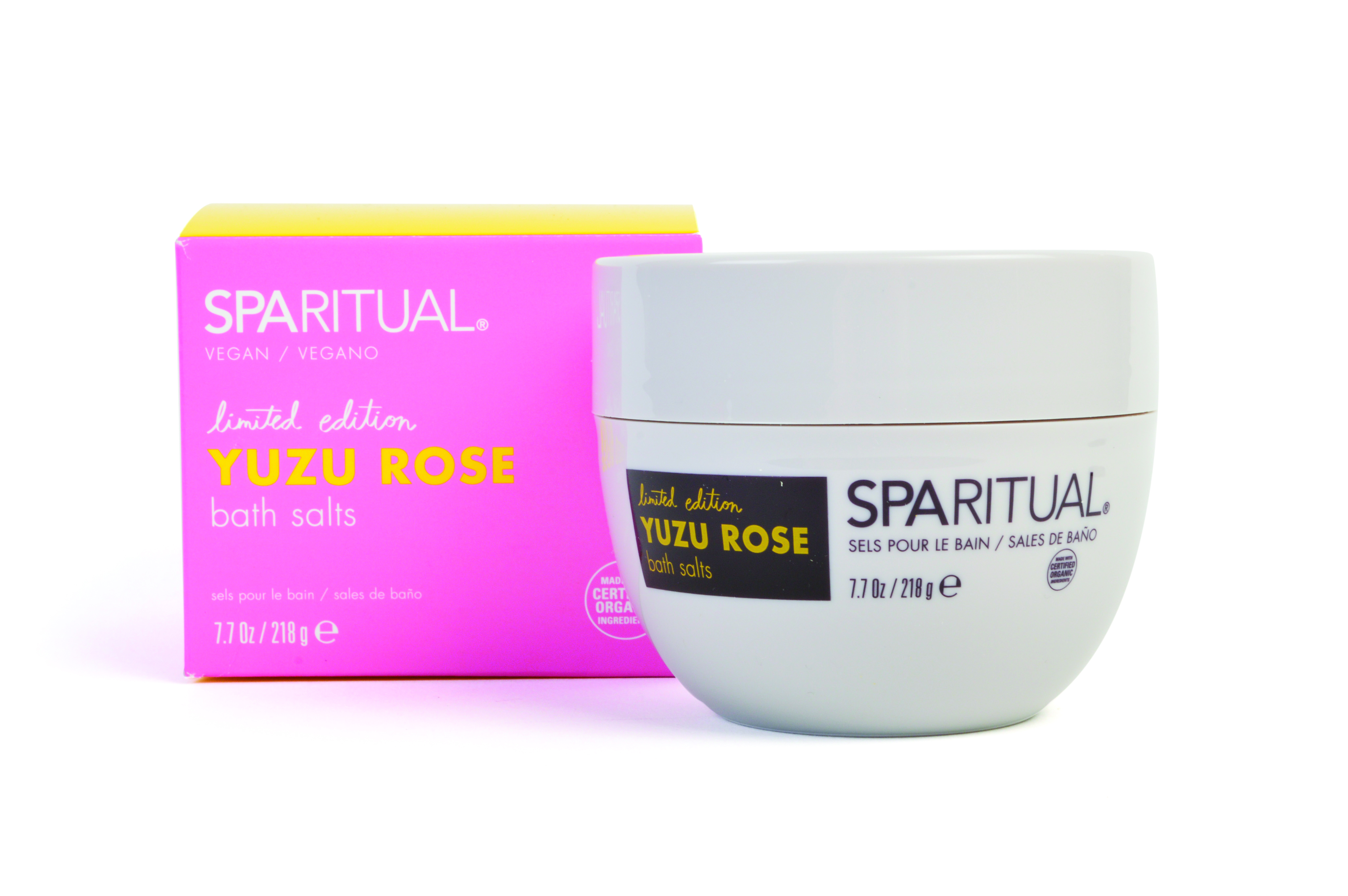 Uplifting Yuzu Rose Bath Salts