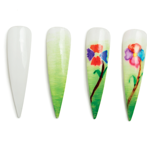 Nail Art Studio: Petal to the Medal